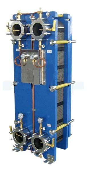 工业用板式换热器