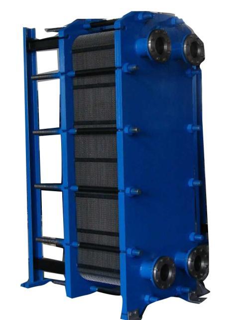 板式换热器各个部位的作用。